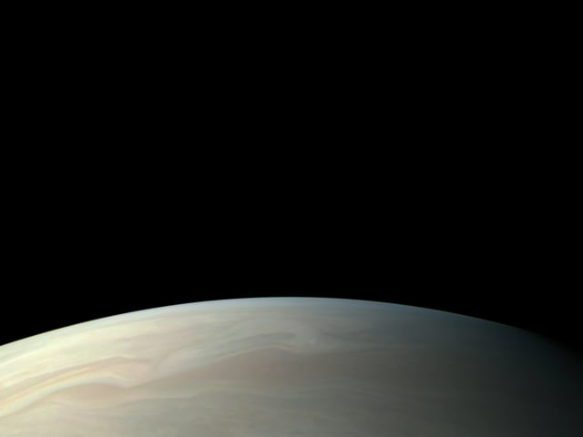 Jupiter as seen by NASA's Juno spacecraft