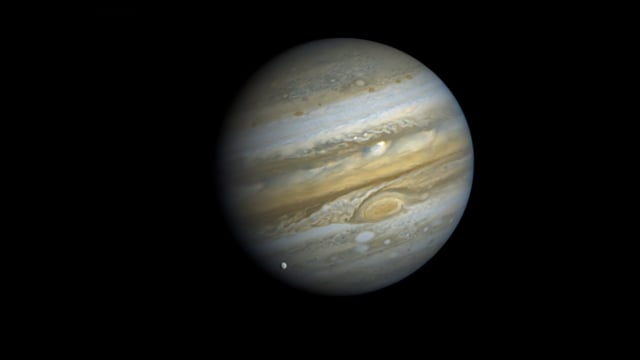 Ten Jovian days: The Voyager 1 Jupiter rotation movie