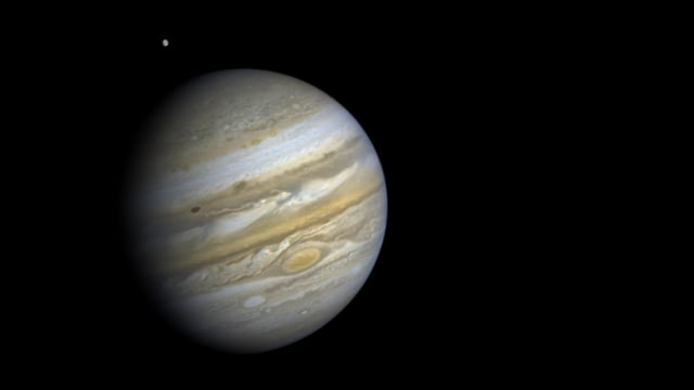Five Jovian days: The Voyager 2 Jupiter rotation movie