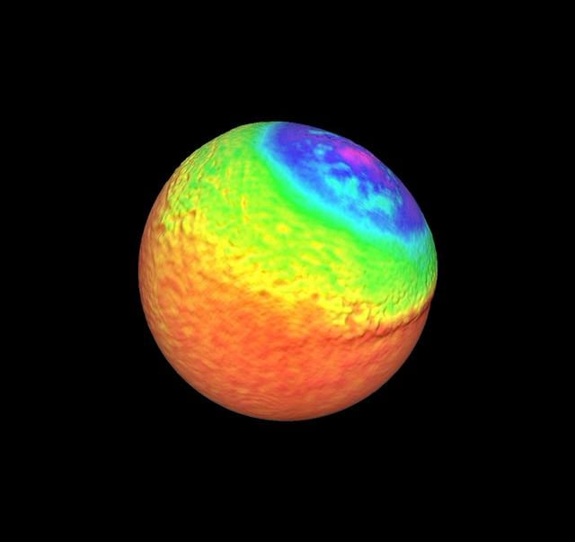 Ejecta distribution after a modeled impact on Vesta