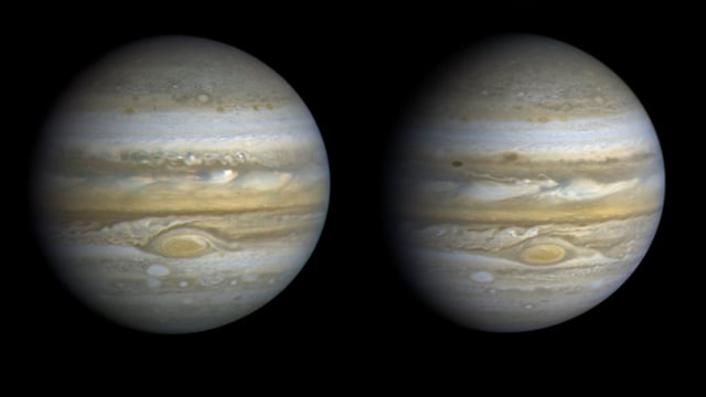 Two Jupiters: The Voyager Rotation Movies (1979)
