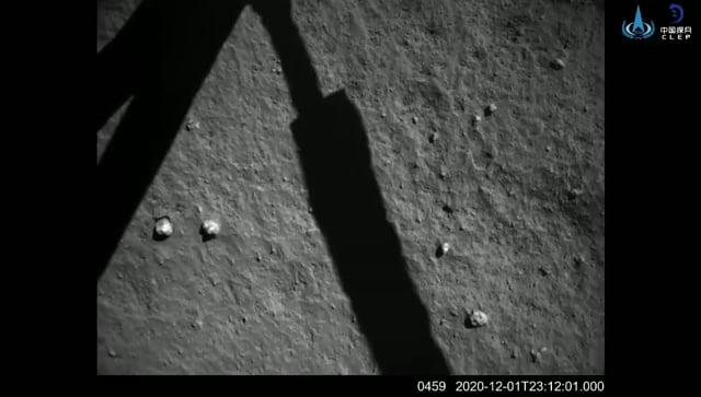 Chang'e-5 Moon Landing Video
